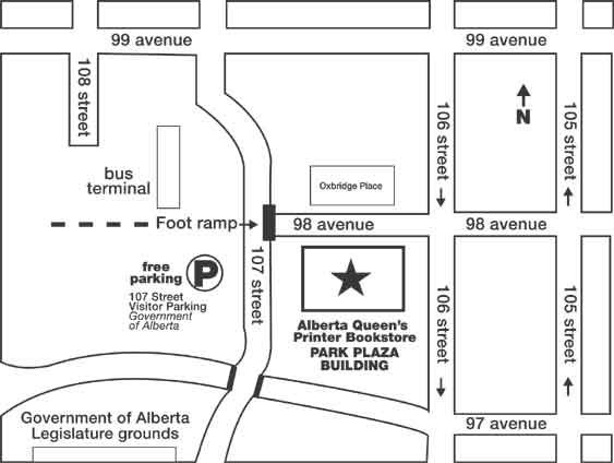 Alberta Queen's Printer Location